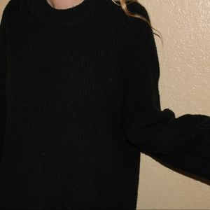 Madewell forest green sweater